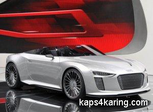 Сногсшибательная Audi R8 V10 Spyder от АВТ