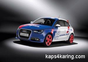 Посвящение компании Audi японской сборной по футболу: спецверсия пятидверной A1