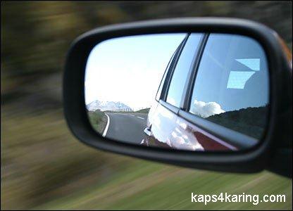 Для новичков-водителей - настройка зеркал автомобиля